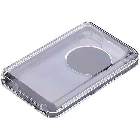 iPod クラシック 専用 クリア保護ケース 落下防止 耐衝撃 防塵 防指紋 (透明)