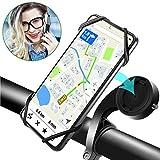 """*WisFox Suport Mòbil Bicicleta, Suport Mòbil Motocicleta Silicona Universal Rotació de 360° Graus, Suport *Movil Manillar Bici Ajustable per a 4.0"""" a 6.8"""" Telèfon Telèfon intel·ligent"""