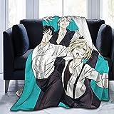 Manta de franela Yuri sobre hielo para cama, sofá, sala de estar, verano, grande, para adultos, 80 x 60 pulgadas