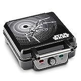 Star Wars LSW-281CN 4-Waffle Maker, 4 Slice, Black (Renewed)
