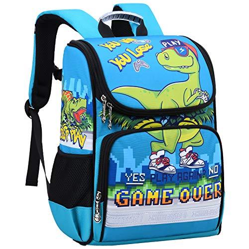 Dinosaur Backpack for Kids, Hey Yoo Cute Dinosaur Bookbag School Bag for boys