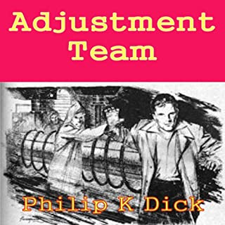 Adjustment Team audiobook cover art