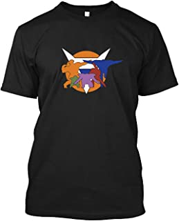 Ginyu Force Pose and Logo - Dragonball Z - 40 Cotton T shirt short sleeve, Hoodie for Men Women Unisex