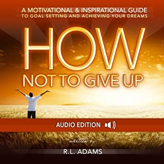How Not to Give Up audiobook cover art