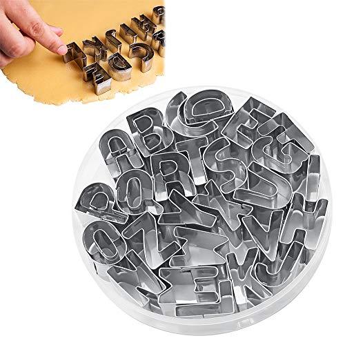 Acciaio Inossidabile Alfabeto Stampini  26  pezzi