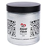Royal Flash - Pintura acrílica metalizada con finas partículas de purpurina, 250 ml (XL plata – 250 ml)