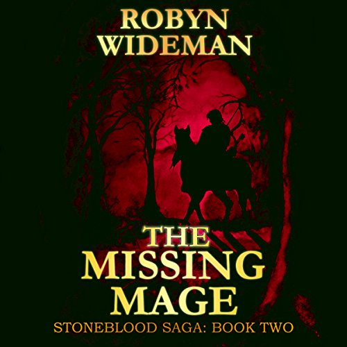 The Missing Mage audiobook cover art