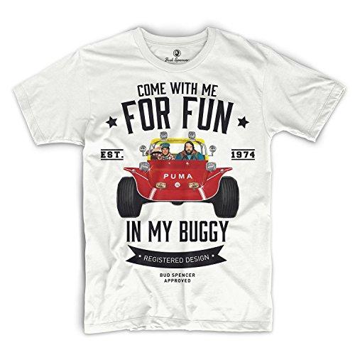 Preisvergleich Produktbild Bud Spencer - Zwei wie Pech und Schwefel - T-Shirt (S),  Weiß