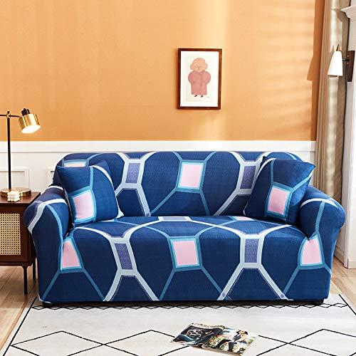 NOBCE Funda de sofá en Forma de L, Funda de sofá de Esquina de Color sólido para Sala de Estar, Fundas de Licra elásticas, Toalla de sofá elástica 90-140CM