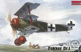 Roden Fokker Dr.I German Fighter Airplane Model Kit
