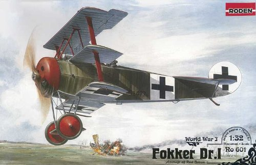 Roden 601 - Aeromodellismo Fokker Dr.I