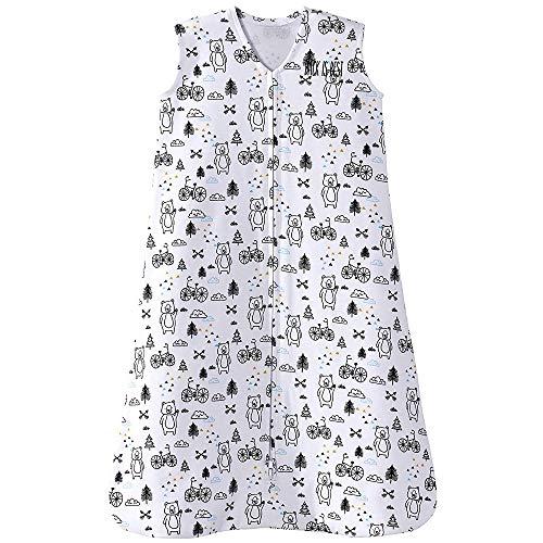 HALO Sleepsack 100% Cotton Wearable Blanket, TOG 0.5, Huggy Bears, Large