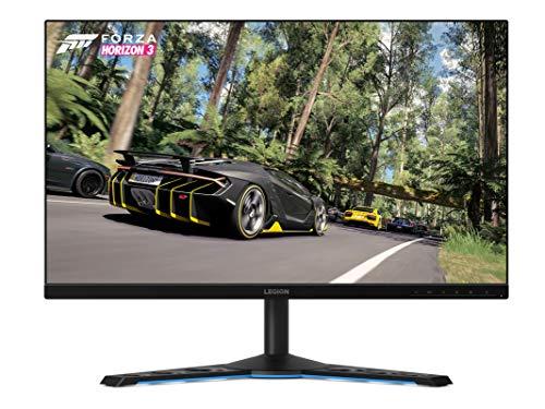 """Lenovo Legion Y27gq-20 - Monitor Gaming 27"""" QHD (TN G-Sync Pro, 165Hz, 1ms, HDMI+DP, 3 lados sin bordes) Regulable en altura, Color Metal Negro"""