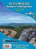 Carta Alto Molise. Sentiero trekking Italia