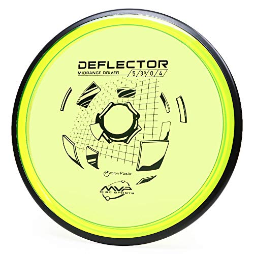 MVP Disc Sports Proton Deflector Disc Golf Midrange Driver (Colors May Vary) (175-180g)