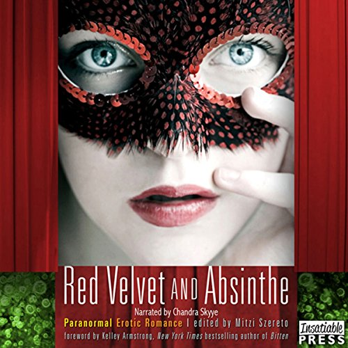 Red Velvet and Absinthe audiobook cover art
