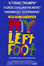My Left Foot Movie Poster (11 x 17 Inches - 28cm x 44cm) (1989) Style A -(Daniel Day-Lewis)(Brenda Fricker)(Ray McAnally)(Cyril Cusack)(Fiona Shaw)(Hugh O'Conor)