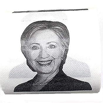 Hillary Clinton Toilet Paper Novelty Political Gag Gift  1