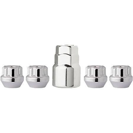 "Black Wheel Locks 14x2 Closed End XL Bulge Acorn 19mm /& 13//16/"" Locking Lug Nuts"
