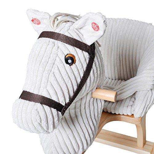 Knorrtoys 40490 – Baby Schaukelpferd Sandy mit Sound - 3
