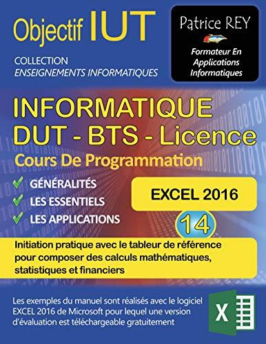 Cours de programmation DUT, BTS, Licence Informatique