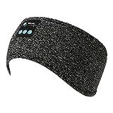 Bluetooth Headband Wireless Sleep Headphones, Bluetooth Sleeping mask Soft Sleeping Side,Bluetooth Sleeping Headphone with Microphone,Women Men Kids Workout Sport for,Yoga, Running