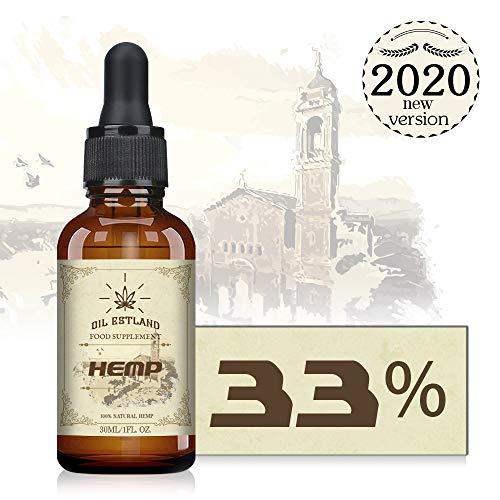 ESTLAND goldenes Öl Tropfen - 33%/30ML - PREMIUM PRODUKT ESSENZ,Neutrale Verpackung,Made in Estland