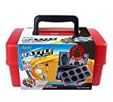 Aimoly Battle Tops Case, Storage Carrying Box Storage Box for Battling Spinner Game (red)