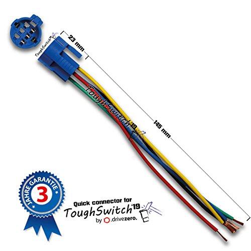 ToughSwitch '19 Schnellverbinder mit Kabel (5 polig, bis 230V)