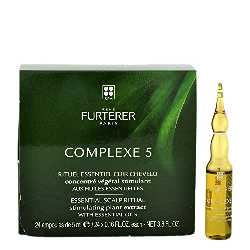 Rene Furterer Complexe 5 Regenerating Plant Extract (Tones The Scalp, Strengthens The Hair) 24x5ml