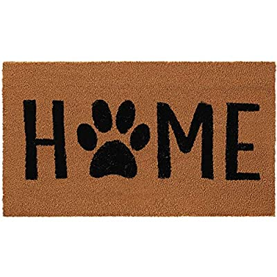Gorilla Grip Premium Durable Coir Door Mat, 30x18, Thick Heavy Duty Coco Doormat for Indoor Outdoor, Easy Clean, Low Maintenance, Low-Profile Rug Mats for Entry, High Traffic Areas, Home