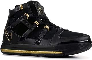 Nike Men's Zoom Lebron III QS, Black/Metallic Gold
