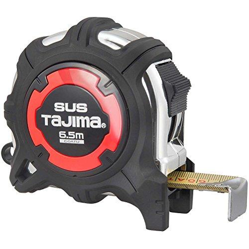 タジマ(Tajima) コンベックス 剛厚ステンレステープ6.5m×25mm 剛厚Gステンロック25 GAGSL25-65