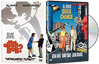 Wild William! Don't Hassle Me I'm Local + Clowns Robbing Banks: What About Bob? + Quick Change (2 Feature Bill Murray Films Classics Comedy DVD Bundle)