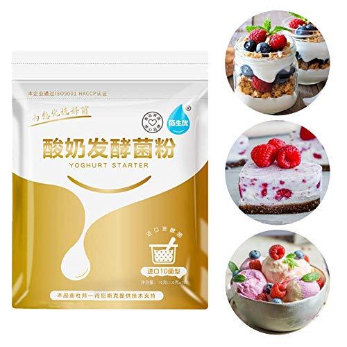decaden 5 Stück reiner natürlicher Joghurt fermentierende Bakterien Joghurtmaschine Hausgemachter Joghurt Probiotisches Fermentationsmittel