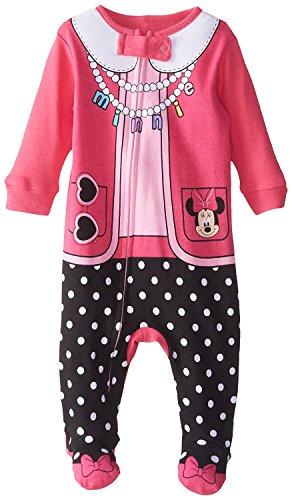 Disney Baby Girls' Minnie Blanket Sleeper, Pink, 6-9 Months