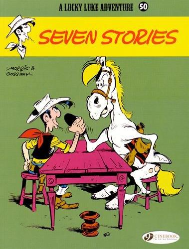 Lucky Luke - tome 50 Steven Stories (50)