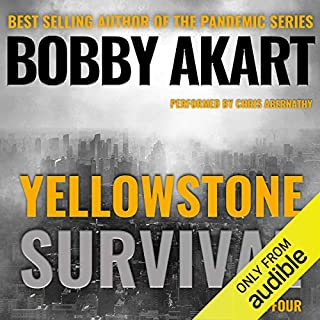 Yellowstone: Survival: A Post-Apocalyptic Survival Thriller audiobook cover art