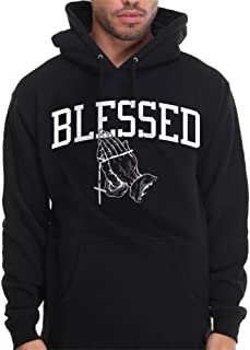 Blessed Hoodie Pullover Sweatshirt Urban Wear Praying Hands Summer 16 God Drake