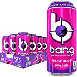 Best Energy Drinks - Bang Frose Rose Energy Drink, 0 Calories, Sugar Review