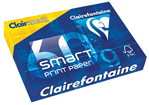 Clairefontaine Smart Print Paper - Normalpapier - Ultra White, 1929