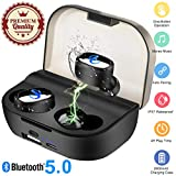 Wireless Earbuds,Bluetooth Earpieces IPX7 Waterproof Wireless Earphones Bluetooth 5.0 Headphones Stereo Noise...