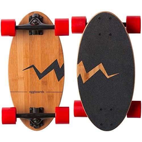 【全米で超ロングセラー】 Eggboards エッグボード スケートボード (ストリートレッド)