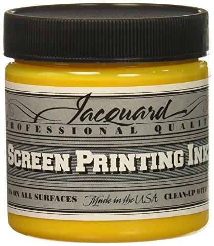 Jacquard JAC-JSI1140 Screen Printing Ink, 4 oz, Process Yellow