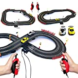 Master Class Electric Powered Slot Car Racing Toys Race Track Set for Kids Boys 3 4 5 6 7 8-16 Years Old Boys Girls Best Gifts