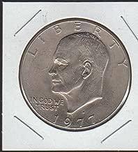 1977 D Eisenhower (1971-1978) $1 Choice About Uncirculated Details