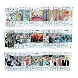 Kpop Transparent Insgram Photocards - Bangtan Boys Photo Cards, Gifts for ARMY Daughter (103pcs)