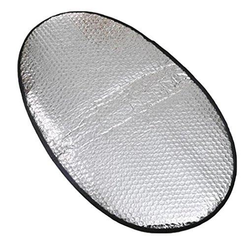 Bodhi2000 en Feuille d'aluminium pour Moto électrique de Voiture Résistant à l'eau Crème Solaire Chaleur Isolation Tapis Housse de siège