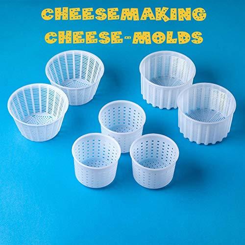 ✔️ Siamo un produttore di formaggi professionali e garantiamo la massima qualità di tutti i nostri dispositivi per la produzione di formaggi. Nel nostro negozio troverete tutti i nostri dispositivi per la produzione di formaggio. Scegliete le forme p...