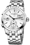 Ulysse Nardin Dual Time Automatic Silver Dial Stainless Steel Mens Watch 3343-126-7-91